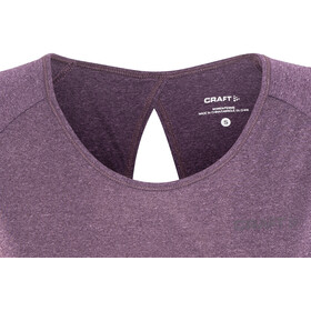 Craft Eaze Hardloopshirt korte mouwen Dames violet